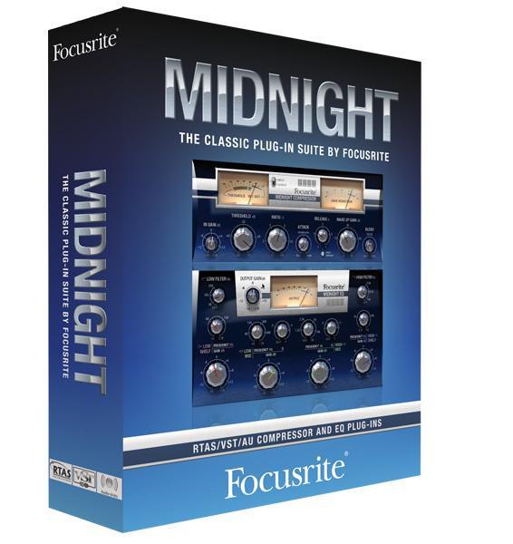 FOCUSRITE Midnight Plugin Suite