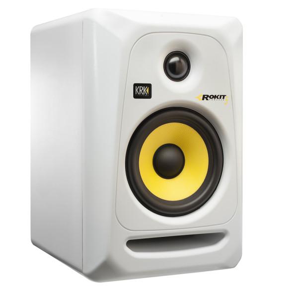 KRK Rokit 5 G3 White Active Studio Monitor
