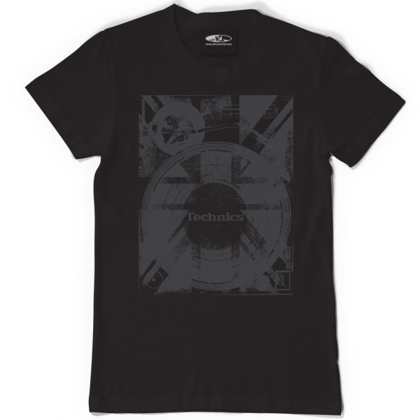 DMC Technics Union Deck T-Shirt T102B Medium