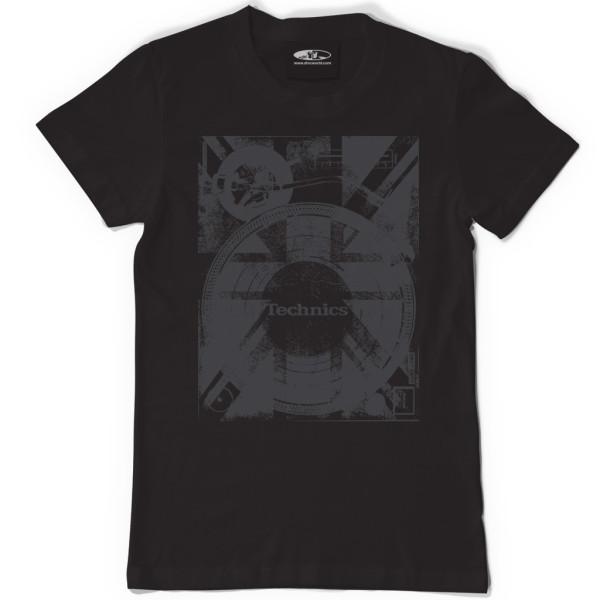 DMC Technics Union Deck T-Shirt T102B Large