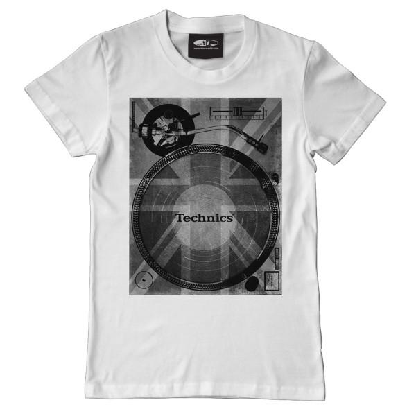 DMC Technics Union Deck T-Shirt T102W Large