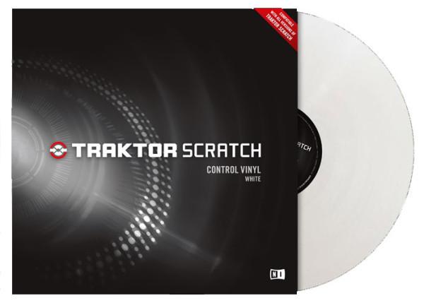 NATIVE INSTRUMENTS Traktor Scratch Vinyl - White