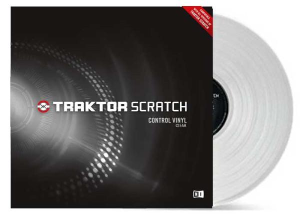 NATIVE INSTRUMENTS Traktor Scratch Vinyl - Clear
