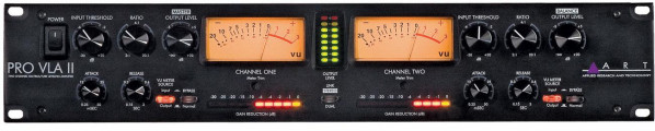 ART PRO VLA II Two Channel Vactrol-based Compressor