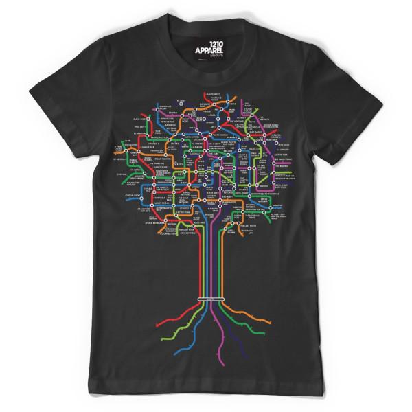 DMC Technics Roots T-Shirt A12101B Small