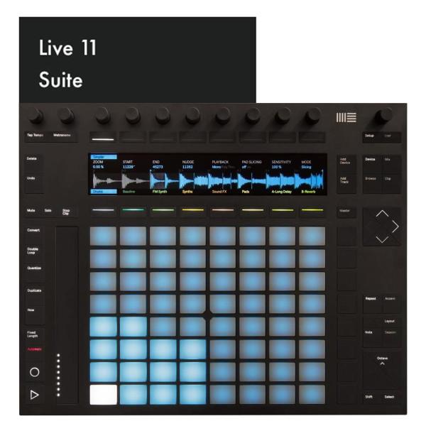 Ableton Push 2 + Live 11 Suite (Download)