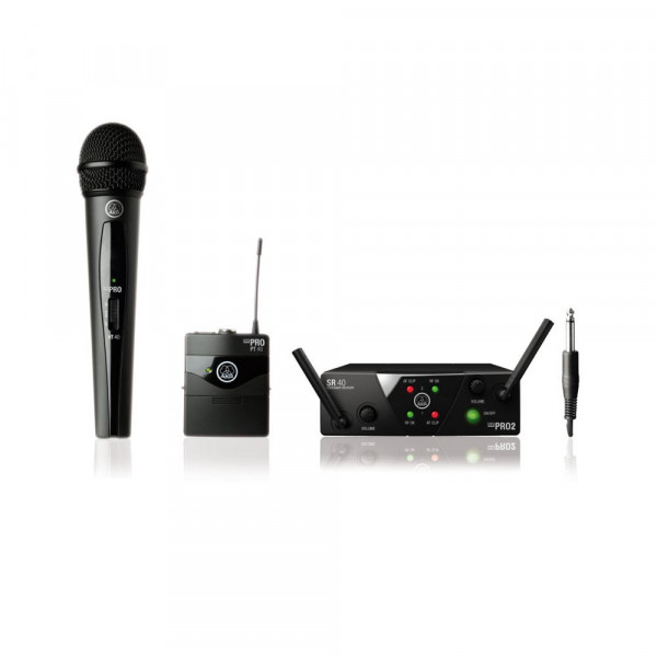 AKG WMS40 Mini Dual Mix Vocal/Instrument ISM2/3CH70