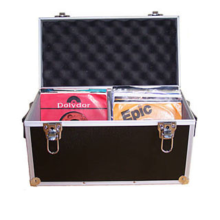 """ACC-SEES APV042 Case for 100 7"""" records - Black"""