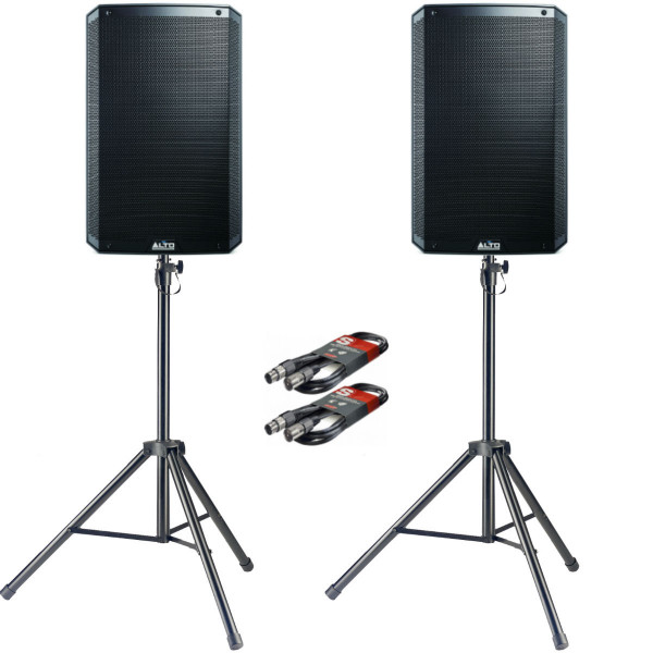 Alto TS315 PA Package with Stands & Cables