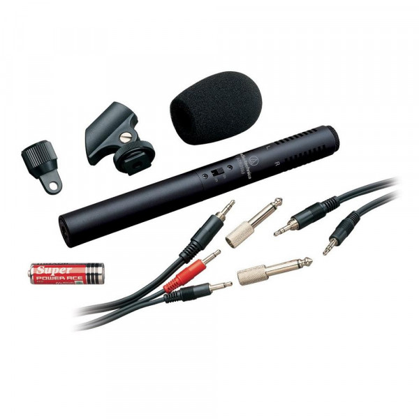 AUDIO TECHNICA ATR6250 Dual Unidirectional Stereo Mic