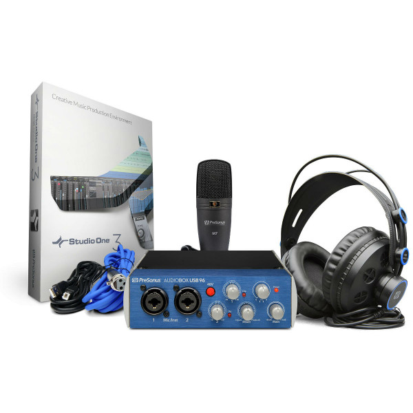Presonus AudioBox 96 Studio Complete Hardware/Software Recording Kit