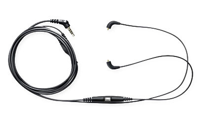 Shure CBL-M-K-EFS Shure Earphone Accessory Cable with R/C
