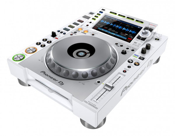Pioneer CDJ2000 NXS2 White Media Player