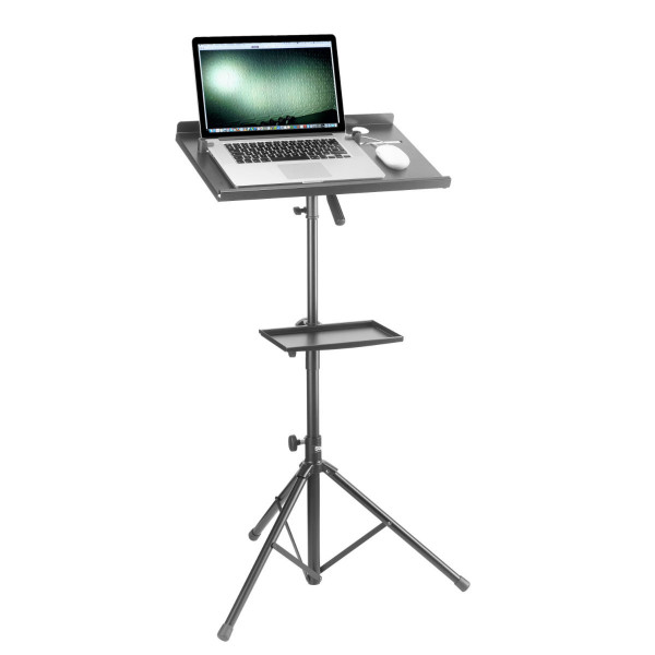 Stagg COS-10 Laptop Stand and Table Black