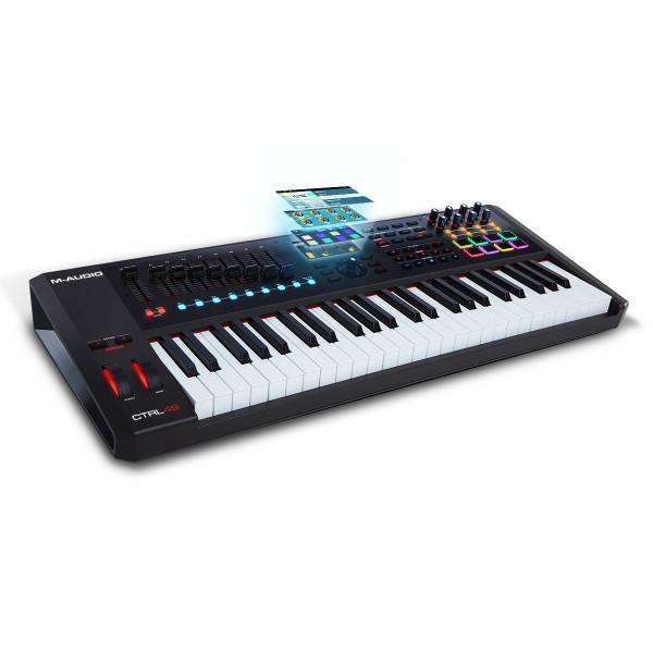 M-AUDIO CTRL49 MIDI Keyboard With Display