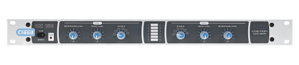 Cloud CX163 2 Zone + Utility Zone Mixer