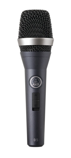 AKG D5S Professional Dynamic Vocal Microphone