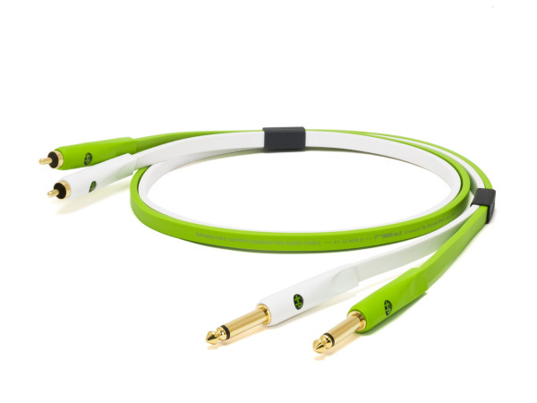 NEO D+ Class B Twin RCA -> Twin TS Cable - 1m