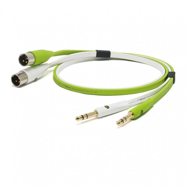 NEO D+ Class B Twin TRS -> Twin XLRM Cable - 1m