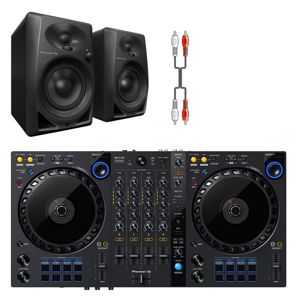 DDJ-FLX6 DJ System with DM40 Monitors