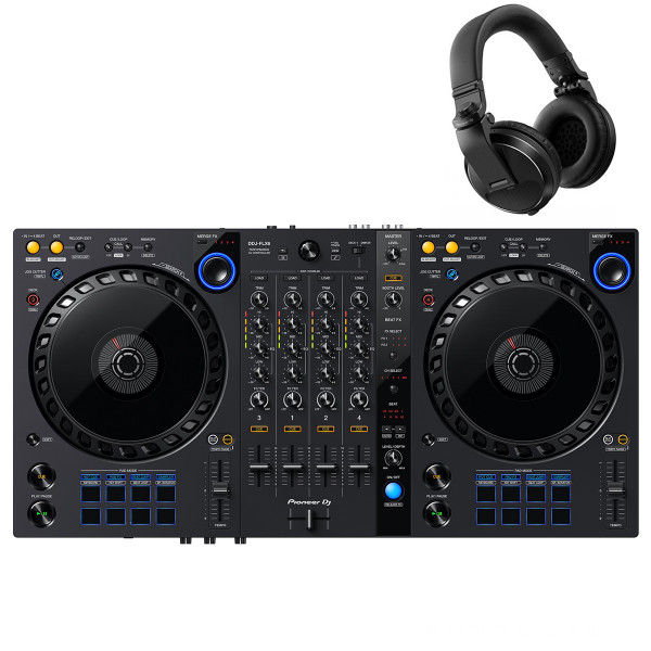 DDJ-FLX6 + HDJ-X5 Headphones