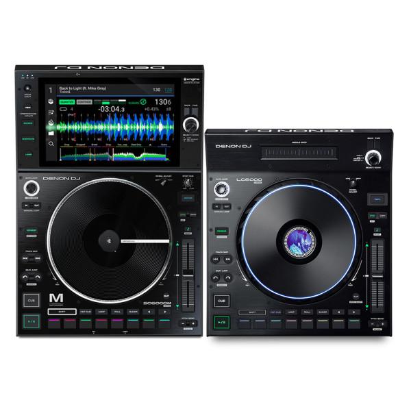 Denon DJ SC6000M + LC6000 Prime Bundle