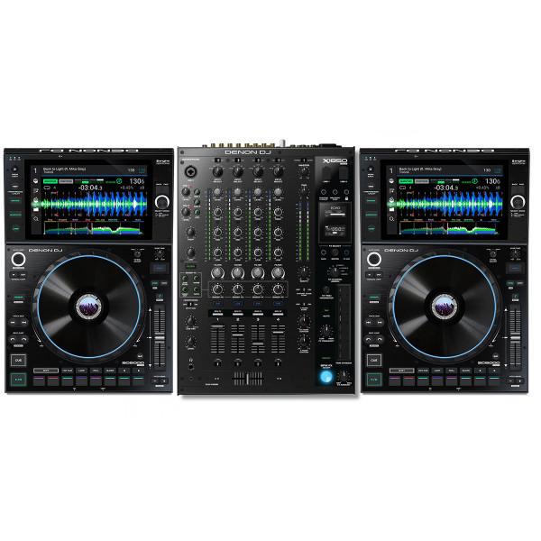 Denon DJ SC6000 Pair + X1850 Bundle