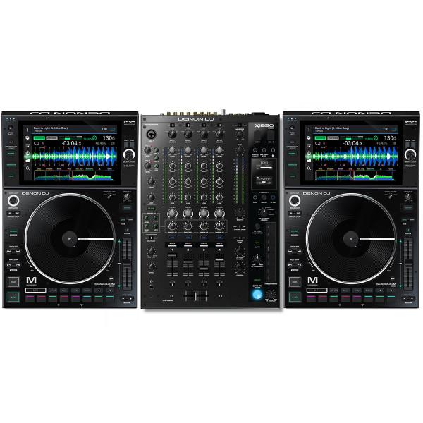 Denon DJ SC6000M Pair + X1850 Bundle