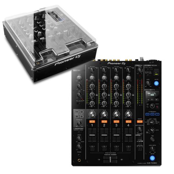 Pioneer DJM-750 MK2 + Decksaver Bundle