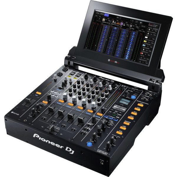 Pioneer DJM-TOUR1 4-channel digital mixer with fold-out touch screen