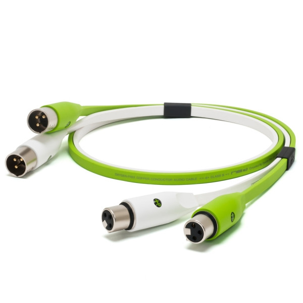 NEO D+ Class B Twin XLRM -> Twin XLRF Cable - 2m