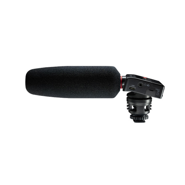 Tascam DR-10SG DSLR Audio Recorder With Mounted Shotgun Microphone