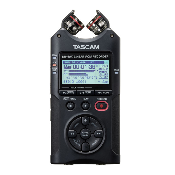 Tascam DR-40X Portable Audio Recorder