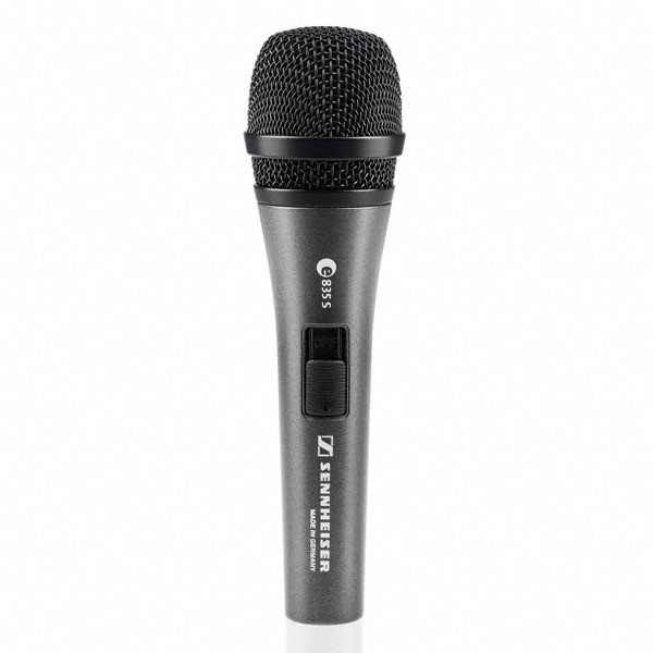 SENNHEISER E835S Handheld Vocal Microphone w/ Switch