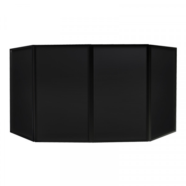 EQUINOX EQLED10B Foldable DJ Screen - Black (Bag Included)