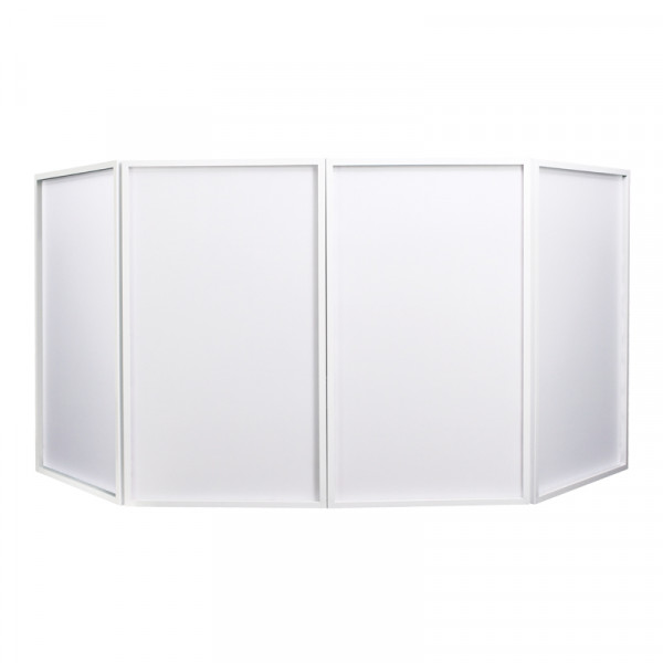 EQUINOX EQLED10C Foldable DJ Screen - White (Bag Included)