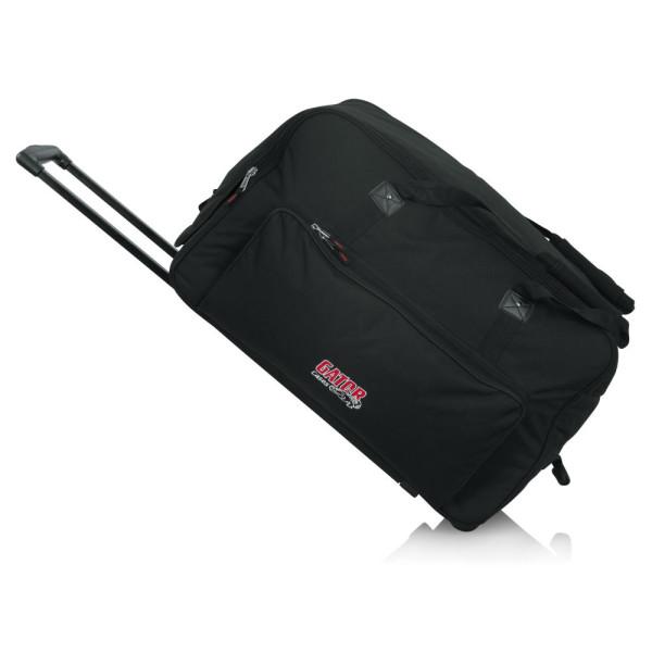 """GATOR GPA712LG Rolling Speaker Bag For Large Format 12"""" Speakers"""