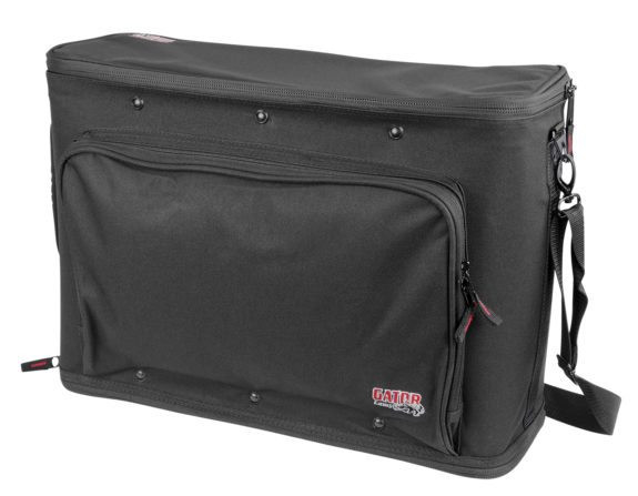 Gator 3U Lightweight Rack Bag with Aluminum Frame
