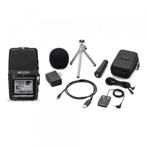 Zoom H2n Recorder with Accessory Pack
