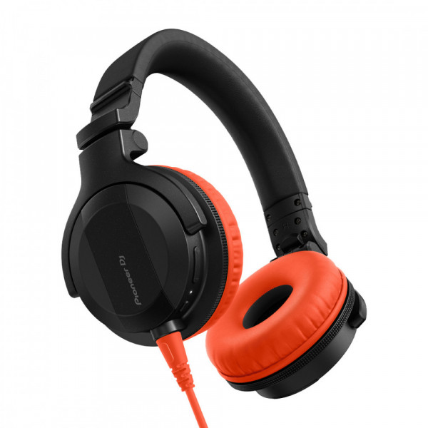 Pioneer DJ HDJ-CUE1 Headphones with Orange Accessory Pack