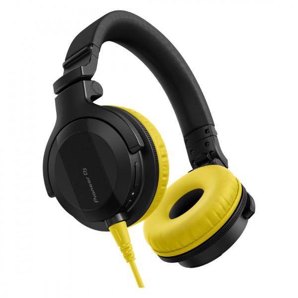 Pioneer DJ HDJ-CUE1 Headphones with Yellow Accessory Pack