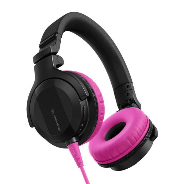 Pioneer DJ HDJ-CUE1 Headphones with Pink Accessory Pack