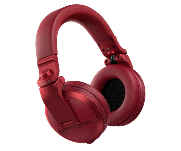 Pioneer HDJ-X5BT-R Bluetooth DJ headphones in red