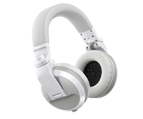 Pioneer HDJ-X5BT-W Bluetooth DJ headphones in white