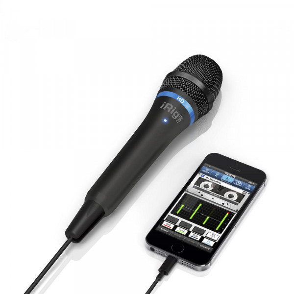 IK Multimedia iRig Mic HD Handheld Mic for iOS Devices