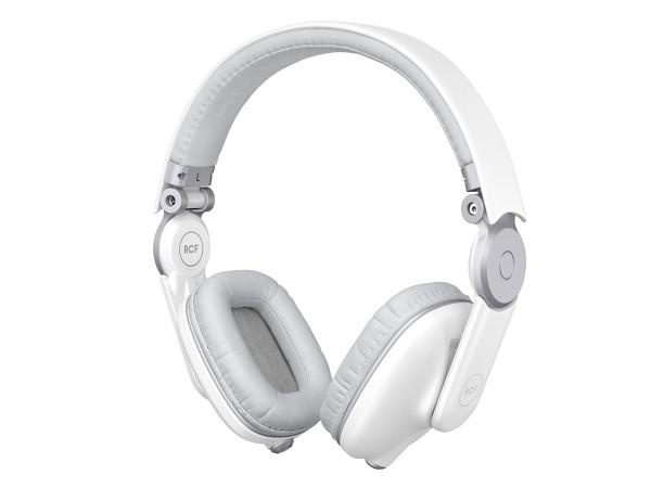 RCF ICONICA DJ Headphones - Angel White