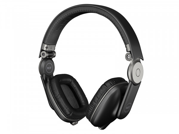RCF ICONICA DJ Headphones - Pepper Black