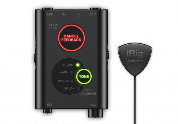 IK Multimedia iRig Acoustic Stage Digital Microphone System For Acoustic Guitar