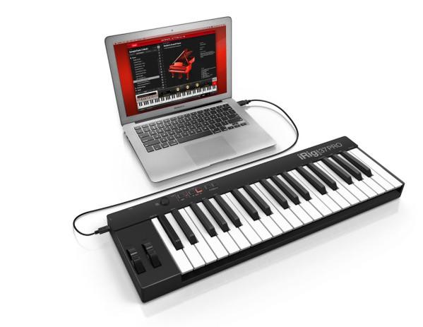 IK Multimedia iRig Keys PRO 37 Key Universal Keyboard Controller