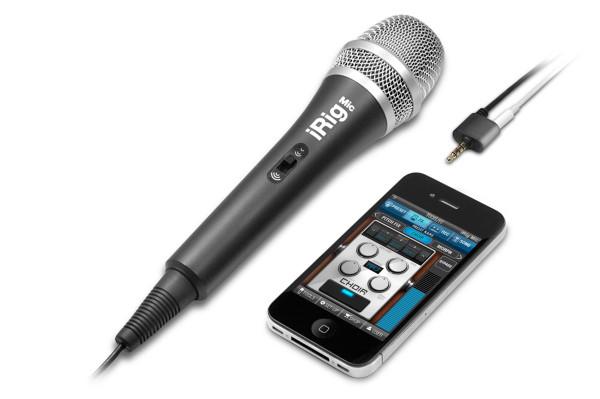 IK Multimedia iRig MIC iOS microphone